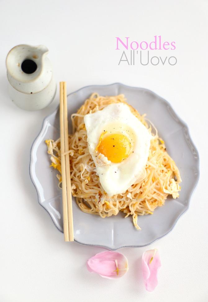 Ricetta Noodles Uova.Noodle All Uovo E Si Va Alla Prova Del Cuoco A Thai Pianist