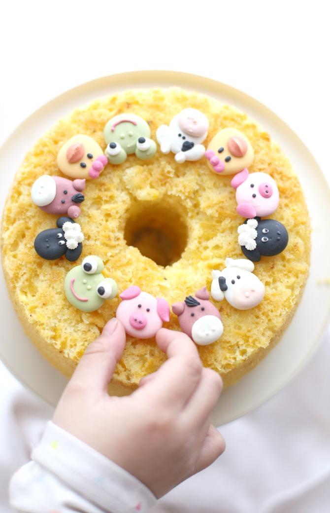 torta festa bimbi
