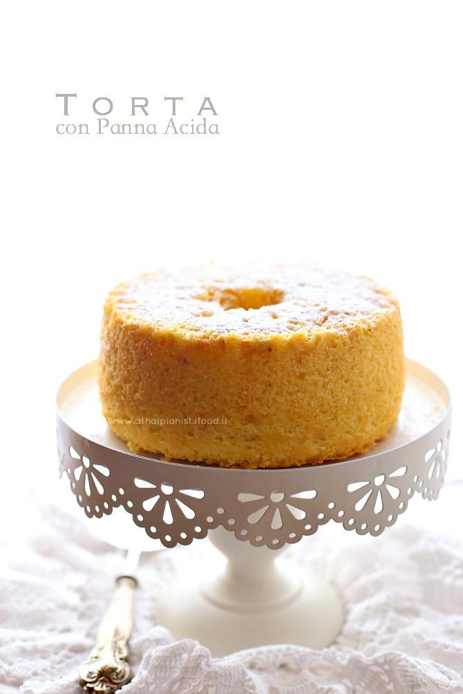 torta panna acida