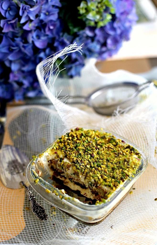tiramisu pistacchio