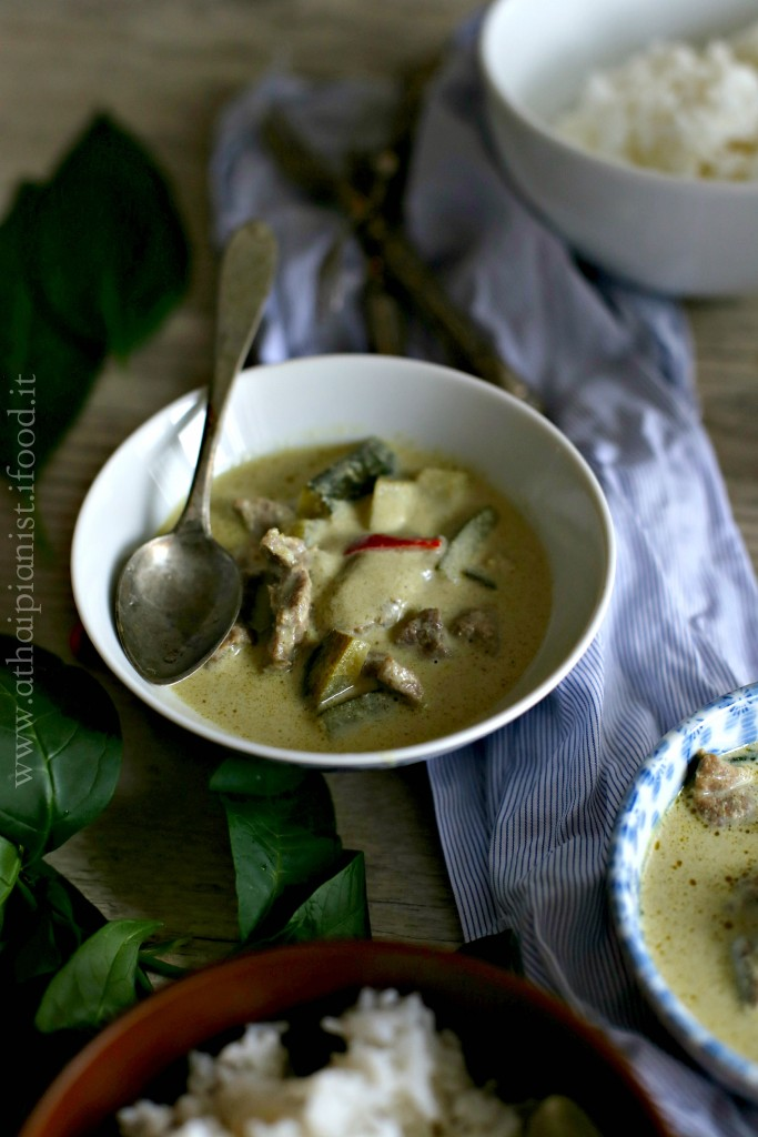 curry thailandese verde