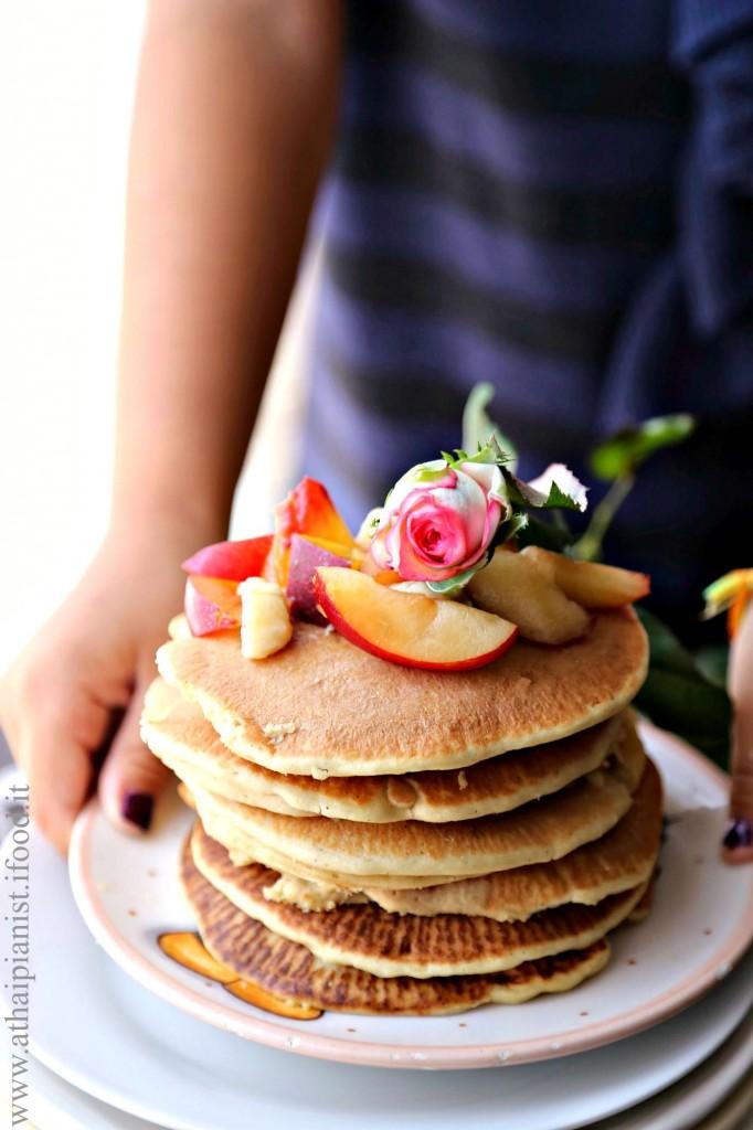 pancake vegan ricetta