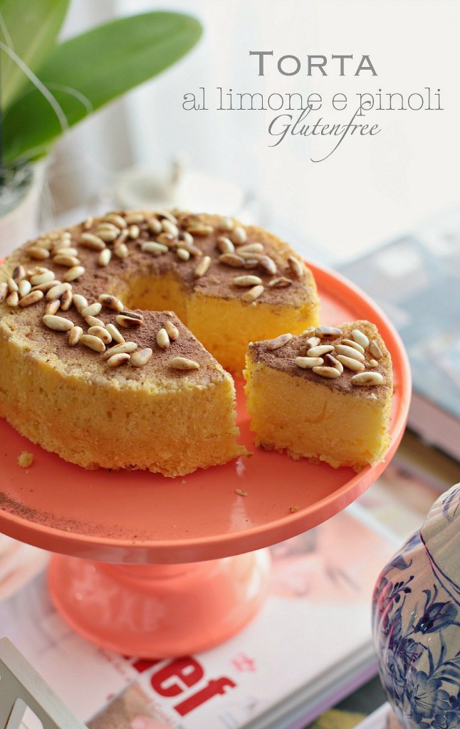 torta limone e pinoli