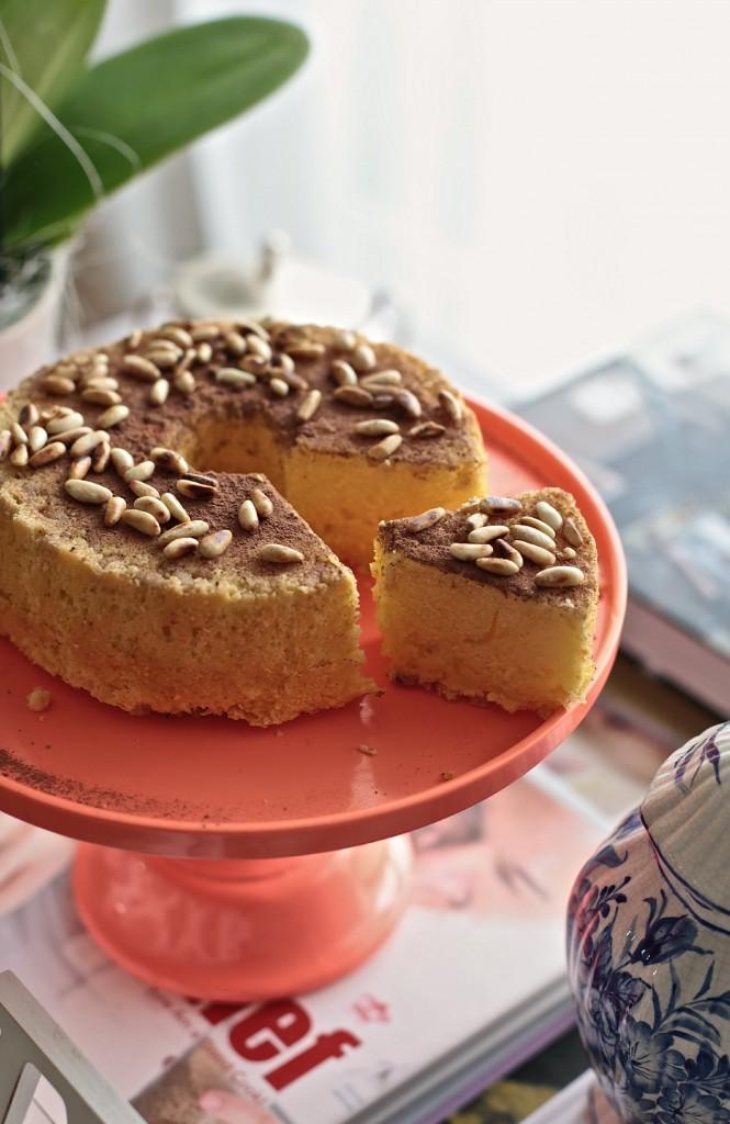 torta senza glutine pinoli