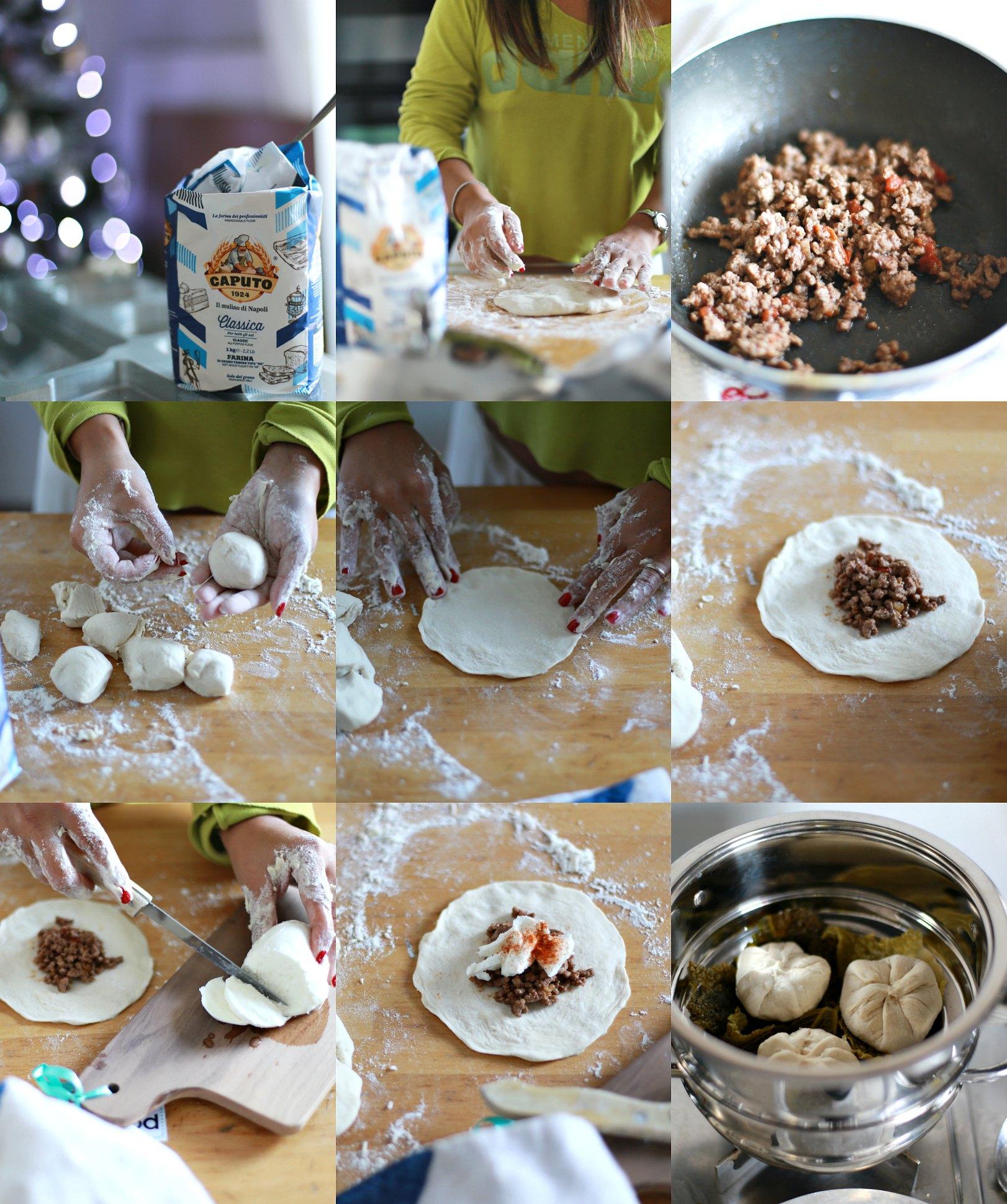 come fare pane cinese