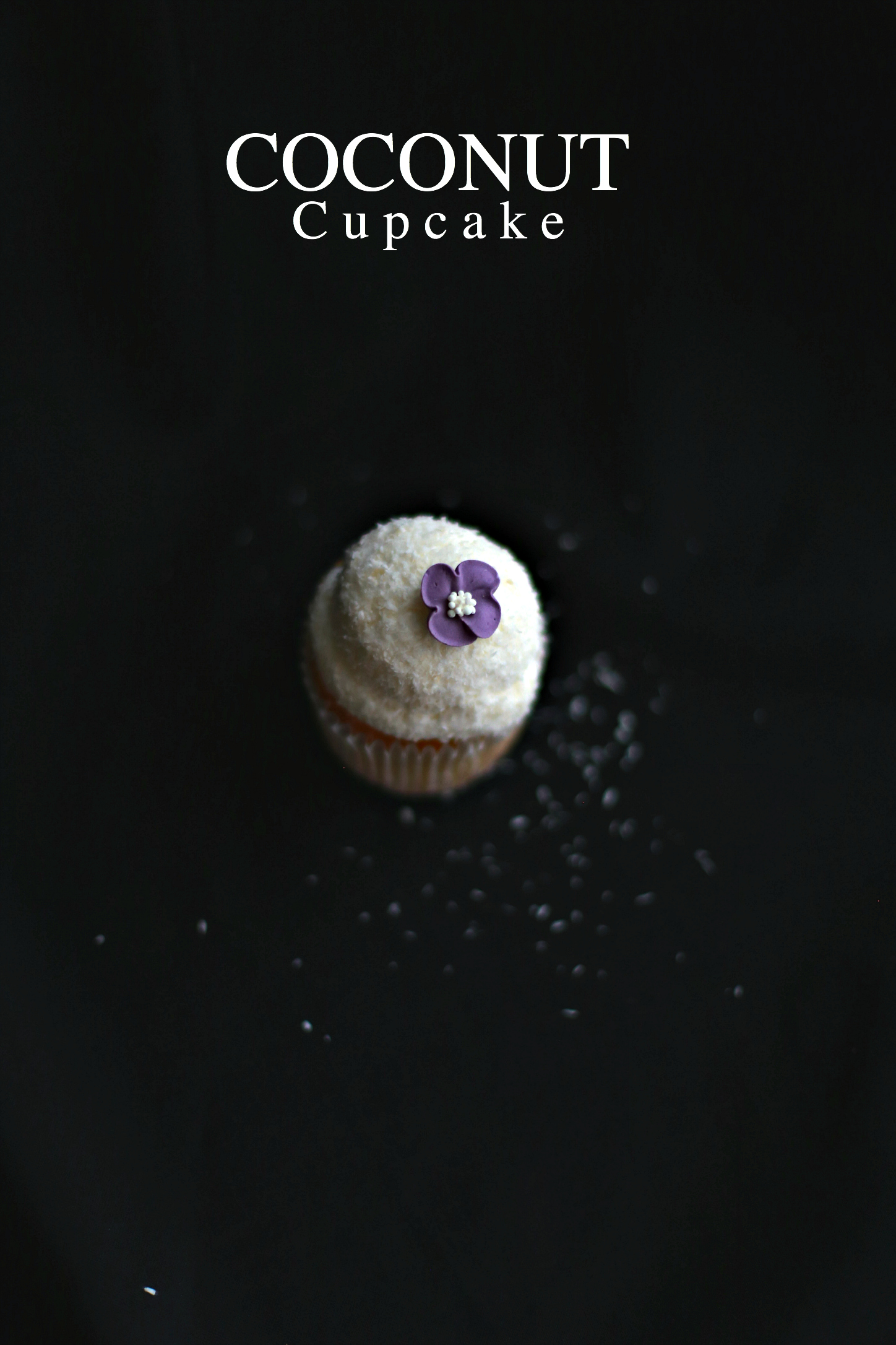 cupcake frosting al cocco