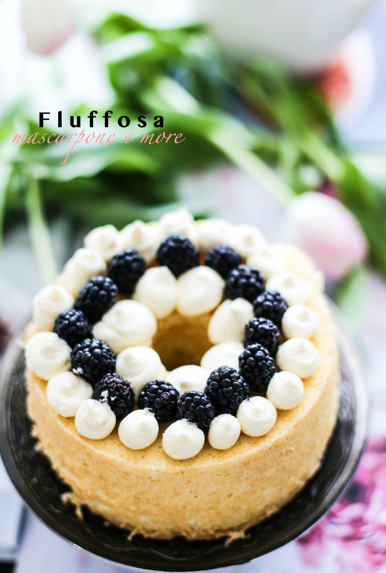 fluffosa mascarpone frutti di bosco