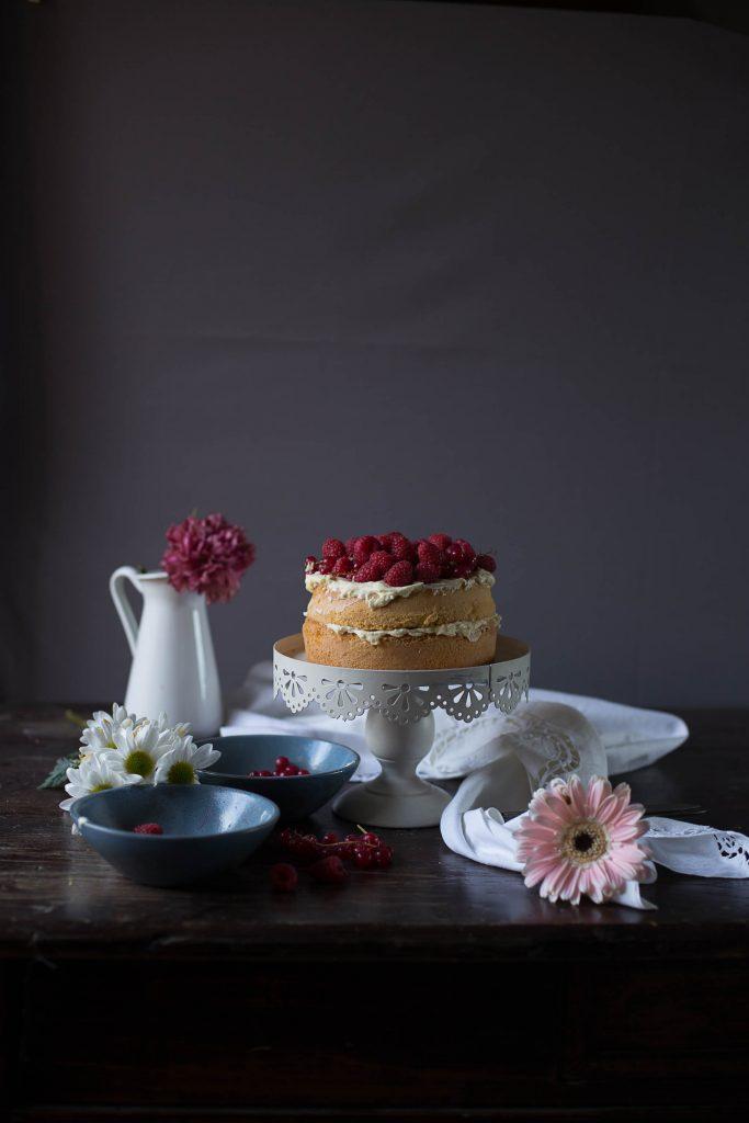 sponge cake frutti di bosco-3