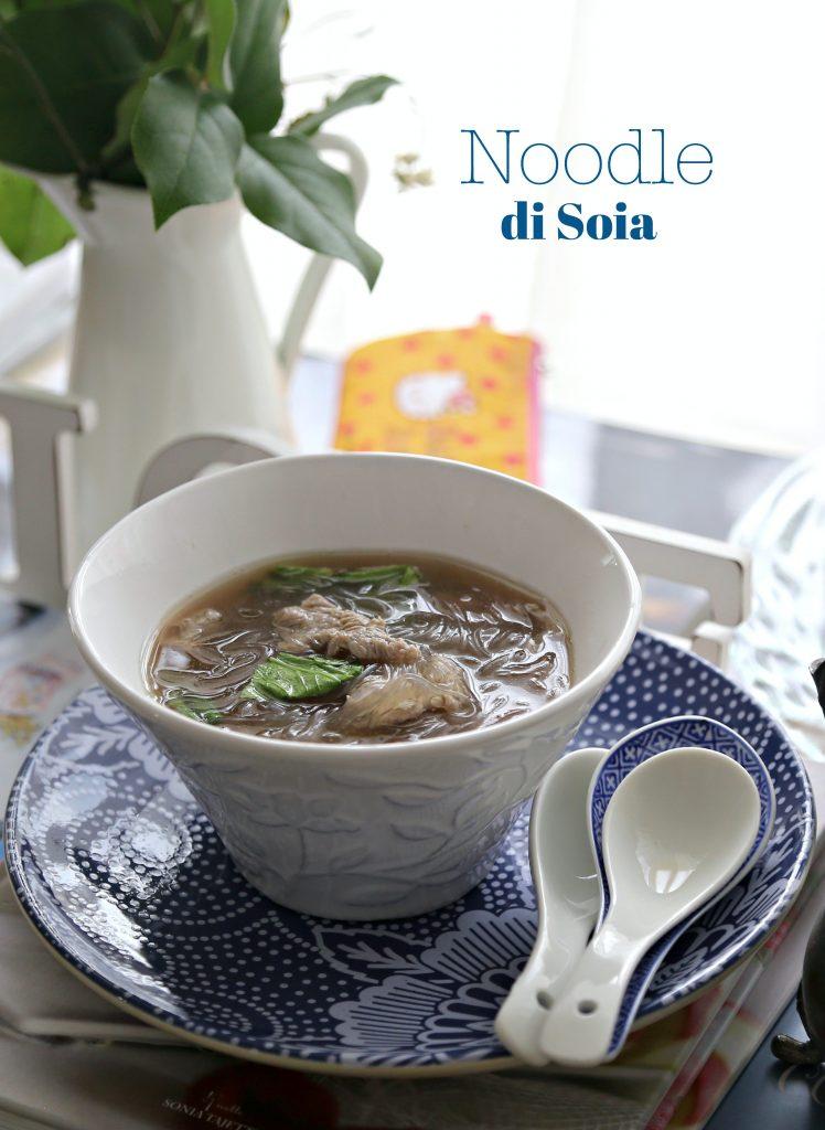 noodle di soia